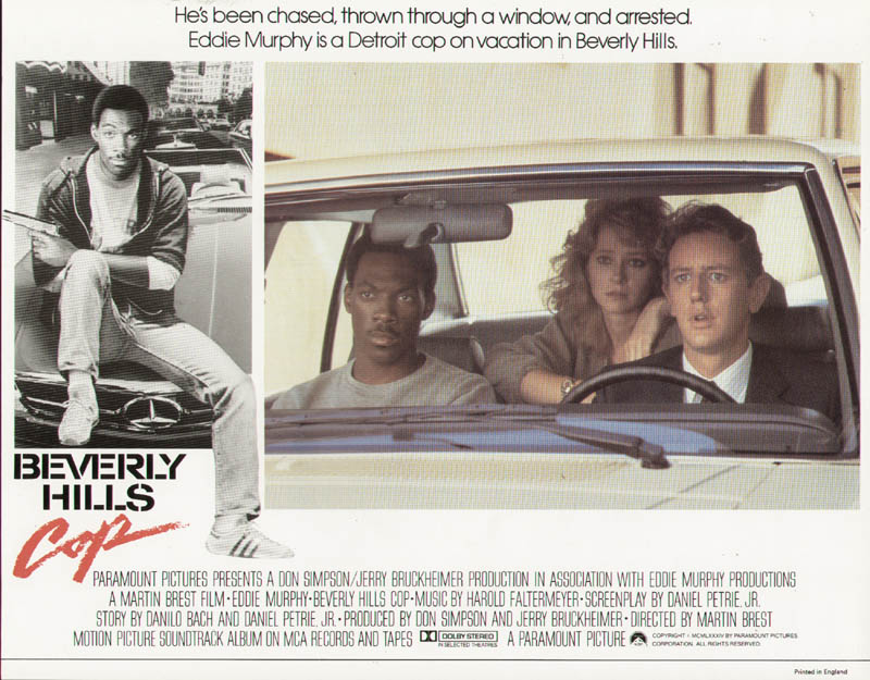 Image 1 for Beverly Hills Cop Movie Cast - Lobby Card Unsigned (Usa) 1984 - HFSID 259631