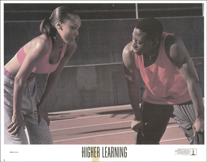 Image 1 for Higher Learning Movie Cast - Lobby Card Unsigned (Usa) 1995 - HFSID 259648