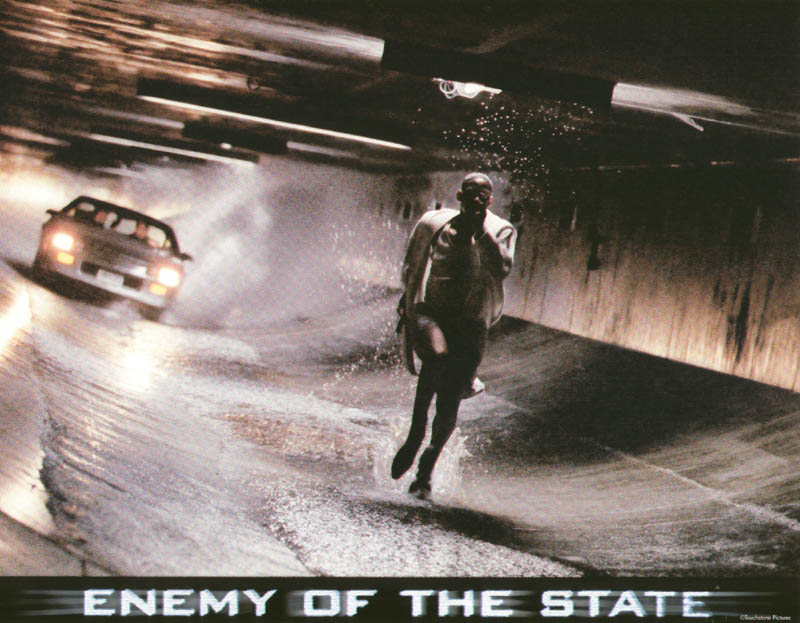Enemy Of The State Movie Cast Lobby Card Unsigned Usa 1998 Historyforsale Item 259669