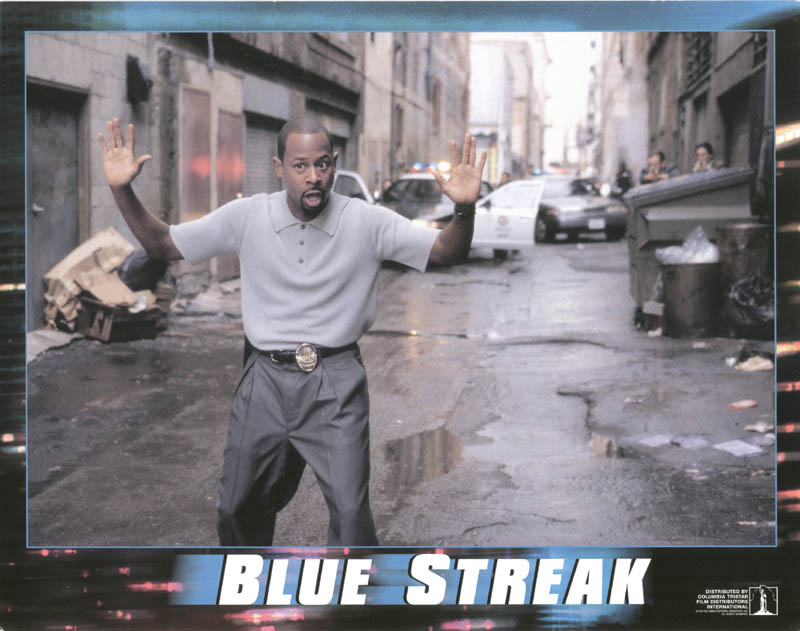 Image 1 for Blue Streak Movie Cast - Lobby Card Unsigned (Usa) 1999 - HFSID 259670