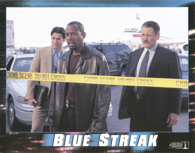 Image 1 for Blue Streak Movie Cast - Lobby Card Unsigned (Usa) 1999 - HFSID 259672
