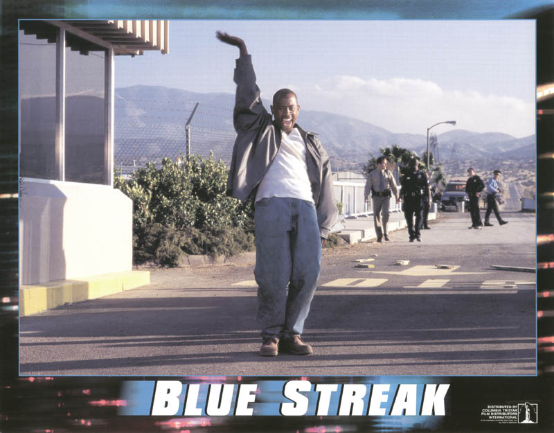 Image 1 for Blue Streak Movie Cast - Lobby Card Unsigned (Usa) 1999 - HFSID 259673