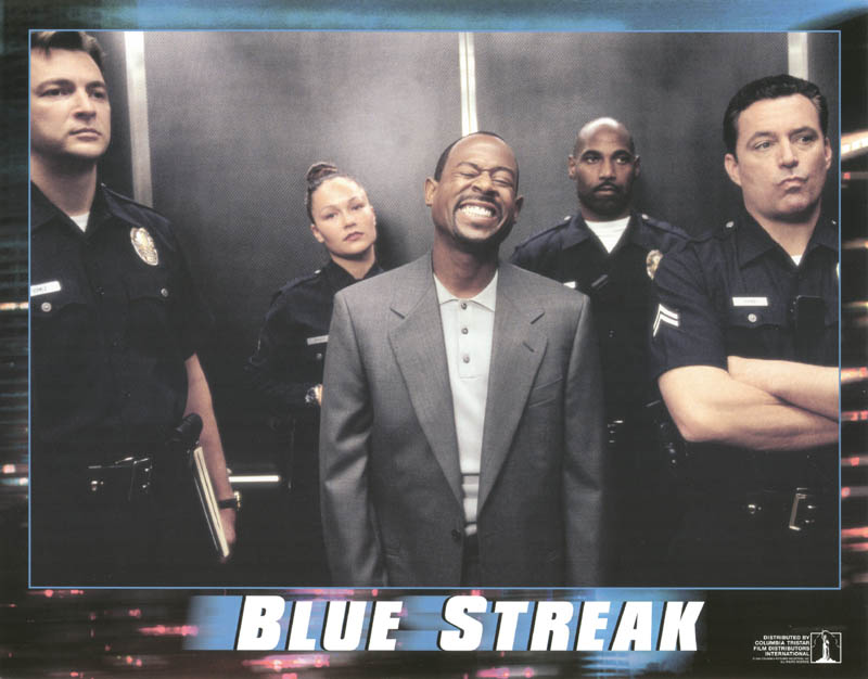 Image 1 for Blue Streak Movie Cast - Lobby Card Unsigned (Usa) 1999 - HFSID 259674