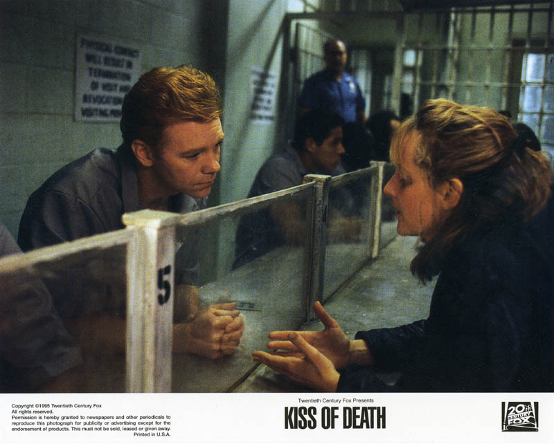 Image 1 for Kiss Of Death Movie Cast - Lobby Card Unsigned (Usa) - HFSID 259718