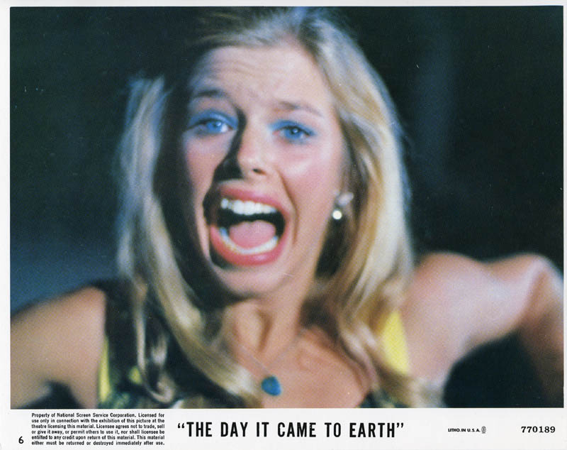 Image 1 for The Day It Came To Earth Movie Cast - Lobby Card Unsigned (Usa) - HFSID 259724