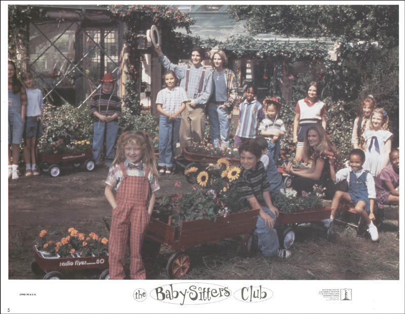 Image 1 for Baby-sitters Club Movie Cast - Lobby Card Unsigned (Usa) 1995 - HFSID 259739