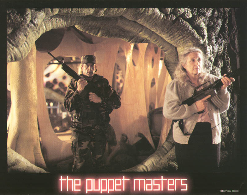 Puppet Masters Movie Cast Lobby Card Unsigned Usa 1994