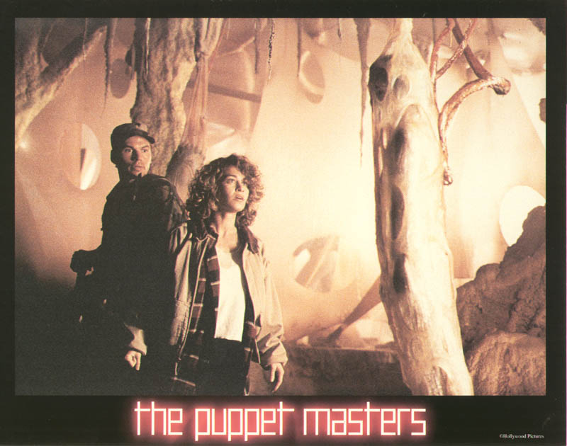 Image 1 for Puppet Masters Movie Cast - Lobby Card Unsigned (Usa) 1994 - HFSID 259763