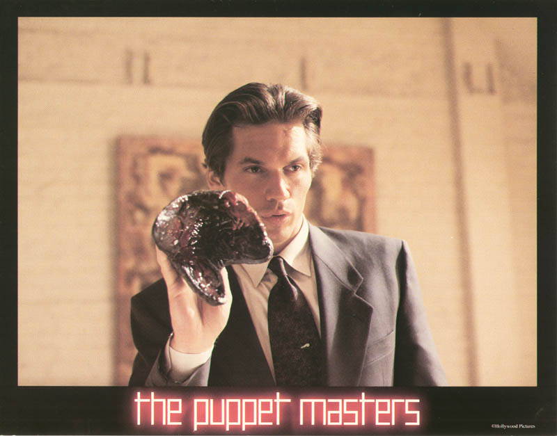 Image 1 for Puppet Masters Movie Cast - Lobby Card Unsigned (Usa) 1994 - HFSID 259765