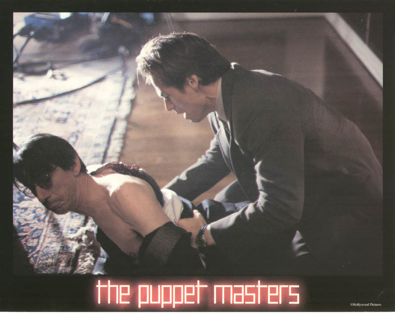 Image 1 for Puppet Masters Movie Cast - Lobby Card Unsigned (Usa) 1994 - HFSID 259766