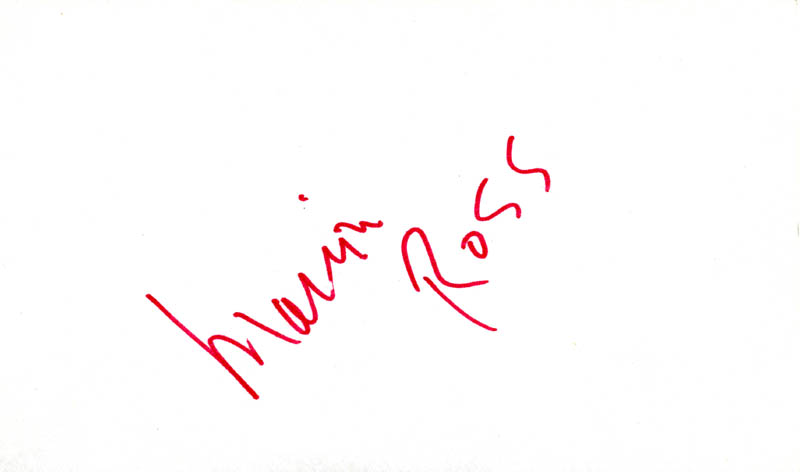 Image 1 for Marion Ross - Autograph - HFSID 25979