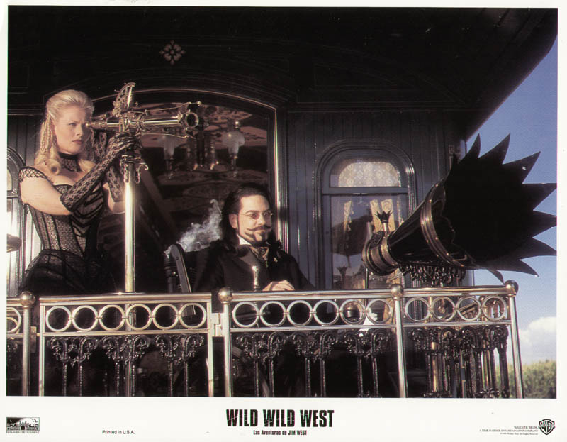 wild wild west movie cast lobby card unsigned sp 1999