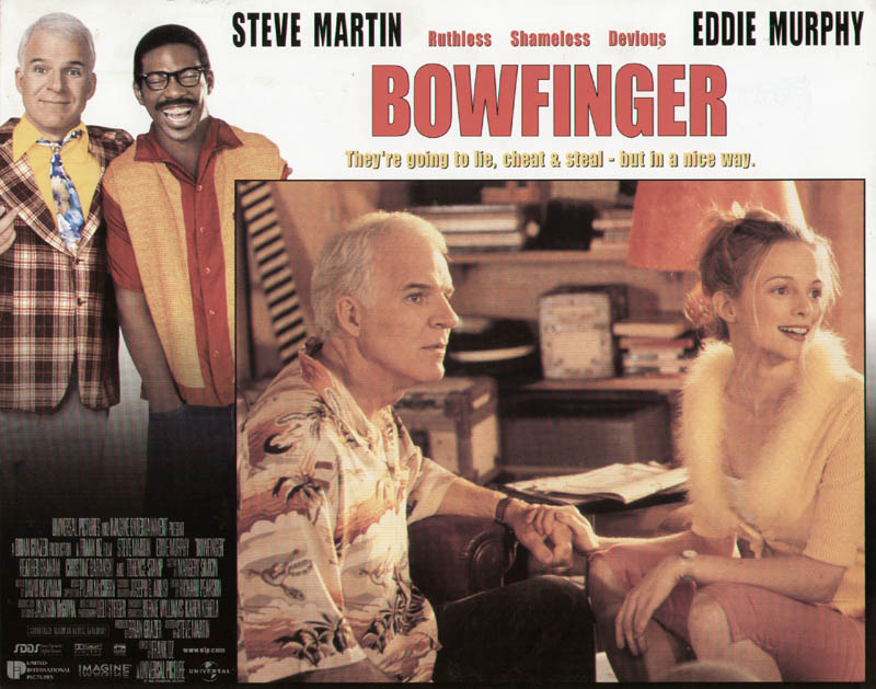 Image 1 for Bowfinger Movie Cast - Lobby Card Unsigned (Usa) 1999 - HFSID 259806