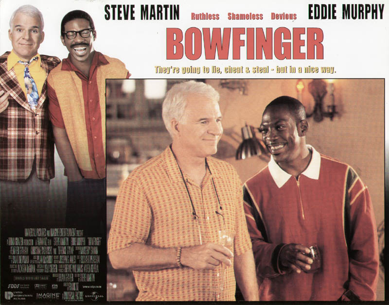 Image 1 for Bowfinger Movie Cast - Lobby Card Unsigned (Usa) 1999 - HFSID 259808