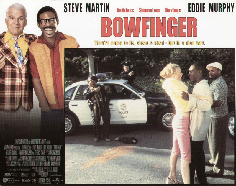 Image 1 for Bowfinger Movie Cast - Lobby Card Unsigned (Usa) 1999 - HFSID 259813