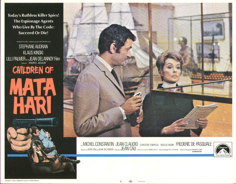 Image 1 for Children Of Mata Hari Movie Cast - Lobby Card Unsigned (Usa) 1970 - HFSID 259834
