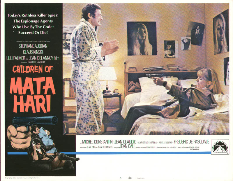 Image 1 for Children Of Mata Hari Movie Cast - Lobby Card Unsigned (Usa) 1970 - HFSID 259837