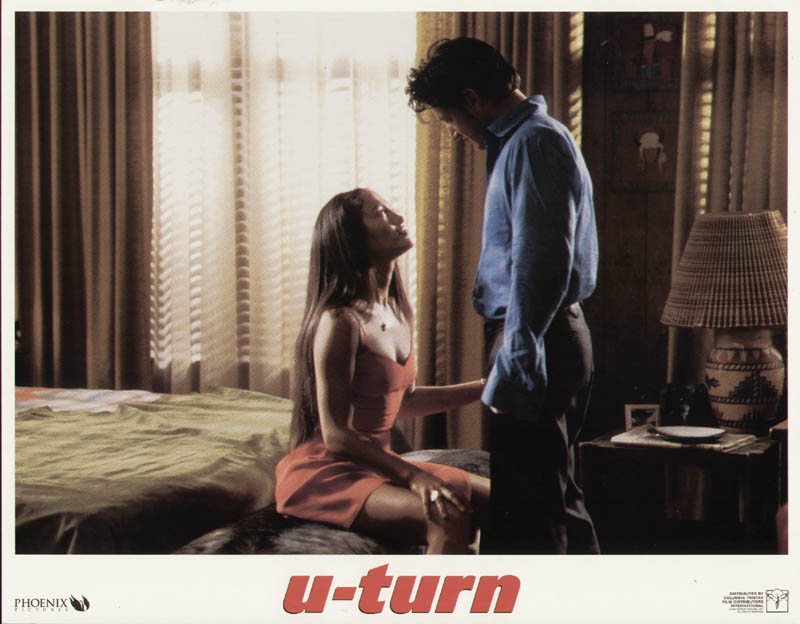 Image 1 for U Turn Movie Cast - Lobby Card Unsigned (Usa) 1997 - HFSID 259850