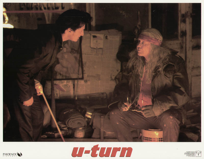 Image 1 for U Turn Movie Cast - Lobby Card Unsigned (Usa) 1997 - HFSID 259851