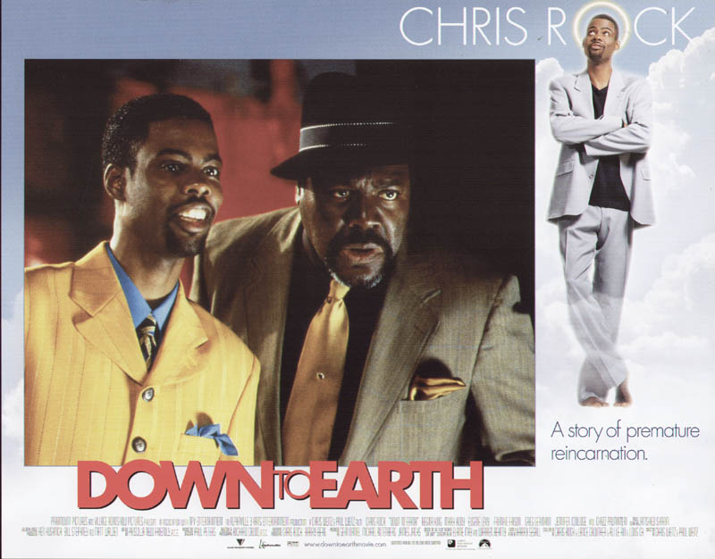 Image 1 for Down To Earth Movie Cast - Lobby Card Unsigned (Usa) 2001 - HFSID 259854