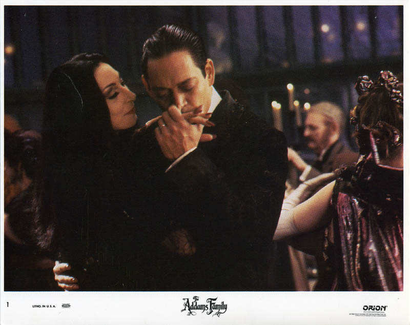 Image 1 for The Addams Family Movie Cast - Lobby Card Unsigned (Usa) - HFSID 259960