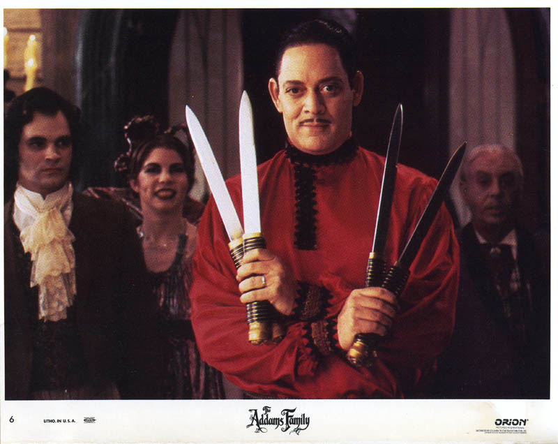 Image 1 for The Addams Family Movie Cast - Lobby Card Unsigned (Usa) 1991 - HFSID 259965