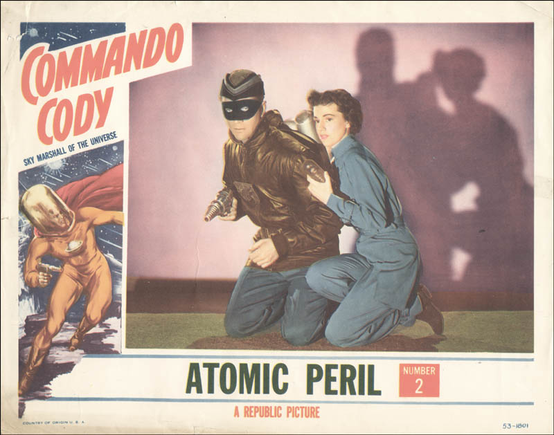Image 1 for Commando Cody Movie Cast - Lobby Card Unsigned (Usa) 1953 - HFSID 260068