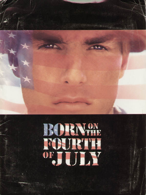 Image 1 for Born On The Fourth Of July Movie Cast - Press Kit Unsigned 1989 - HFSID 260082