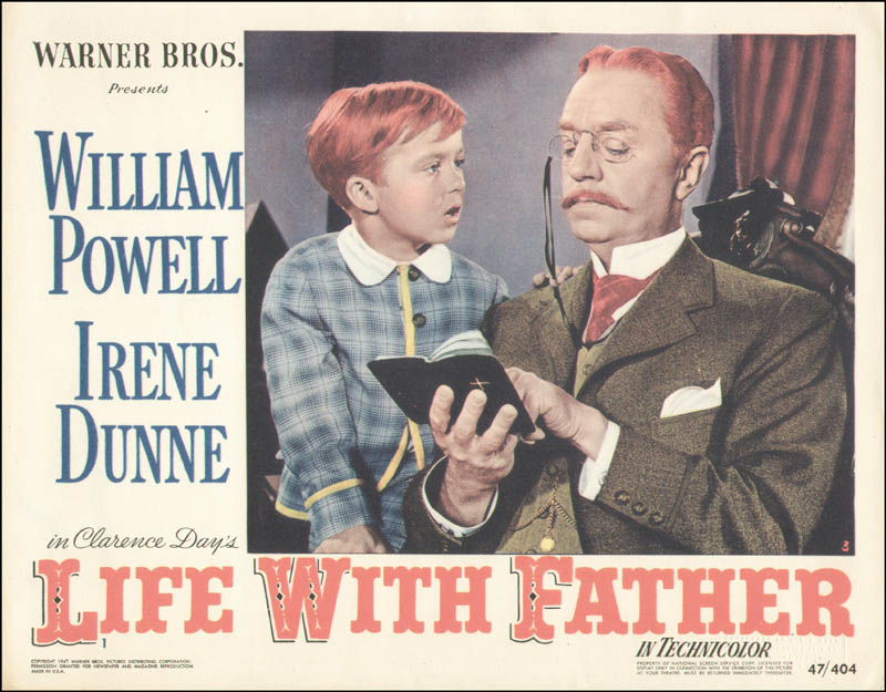 Image 1 for Life With Father Movie Cast - Lobby Card Unsigned (Usa) 1947 - HFSID 260156