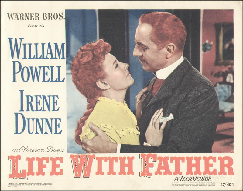 Image 1 for Life With Father Movie Cast - Lobby Card Unsigned (Usa) 1947 - HFSID 260160