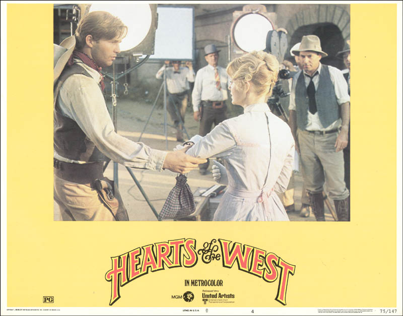 Image 1 for Hearts Of The West Movie Cast - Lobby Card Unsigned (Usa) 1975 - HFSID 260169