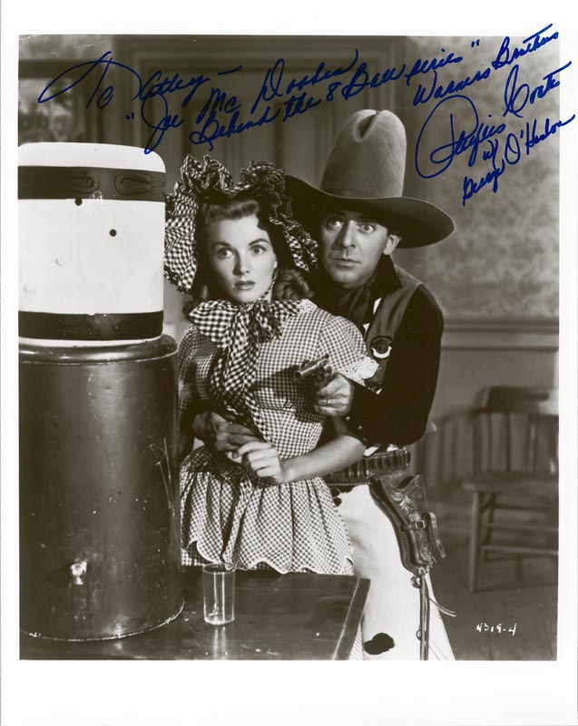 Image 1 for Phyllis Coates - Autographed Inscribed Photograph - HFSID 260185