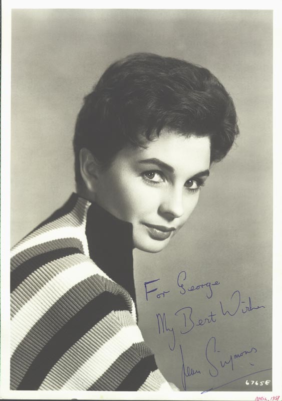 Image 1 for Jean Simmons - Autographed Inscribed Photograph - HFSID 26054