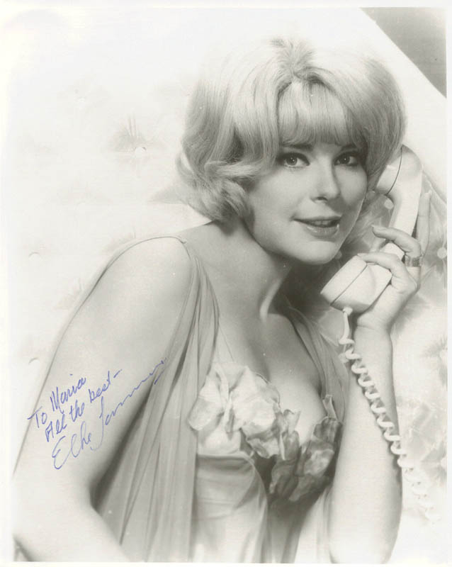 Image 1 for Elke Sommer - Autographed Inscribed Photograph - HFSID 26077