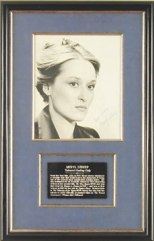Image 1 for Meryl Streep - Autographed Signed Photograph - HFSID 26120