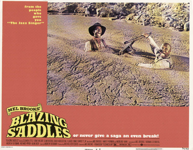 Image 1 for Blazing Saddles Movie Cast - Lobby Card Unsigned (Usa) 1974 - HFSID 261462