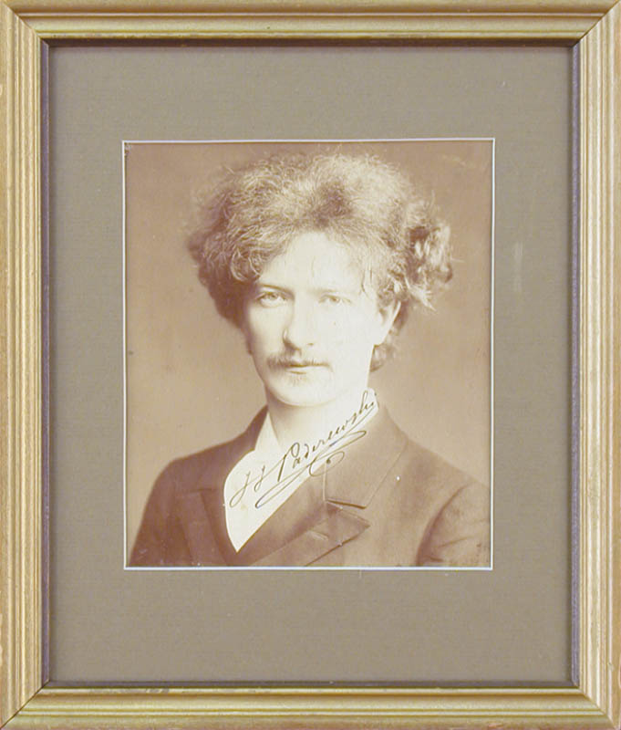 Image 1 for Ignacy Jan Paderewski - Autographed Signed Photograph - HFSID 261502