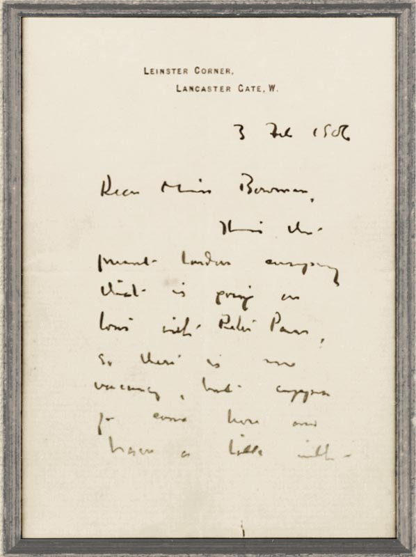Image 3 for Sir James M. Barrie - Autograph Letter Signed 02/03/1906 - HFSID 261609