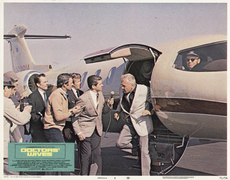 Image 1 for Doctors'' Wives Movie Cast - Lobby Card Unsigned (Usa) 1971 - HFSID 261664