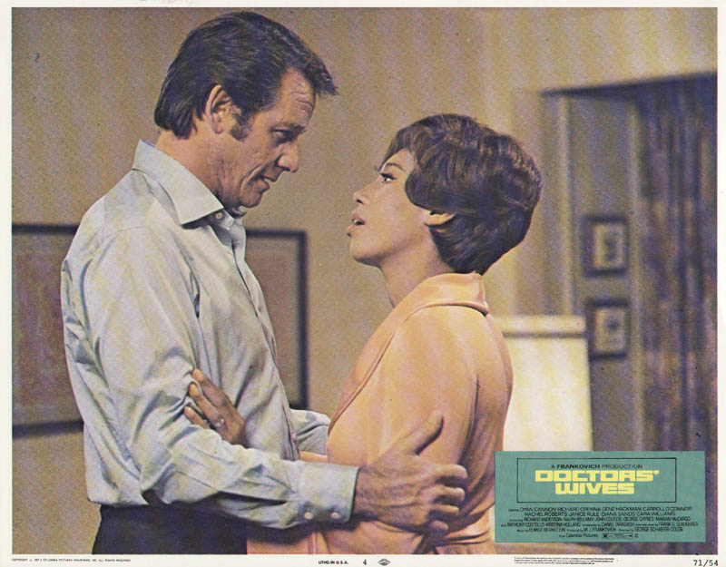 Image 1 for Doctors'' Wives Movie Cast - Lobby Card Unsigned (Usa) 1971 - HFSID 261665