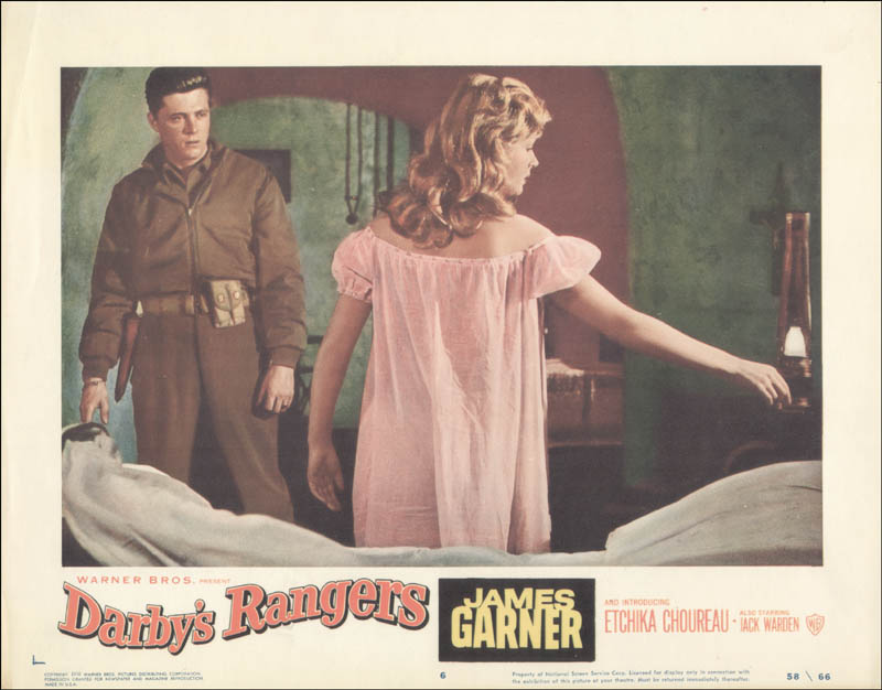 Image 1 for Darby''S Rangers Movie Cast - Lobby Card Unsigned (Usa) 1958 - HFSID 261691