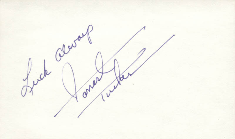 Image 1 for Forrest Tucker - Autograph Sentiment Signed - HFSID 26171