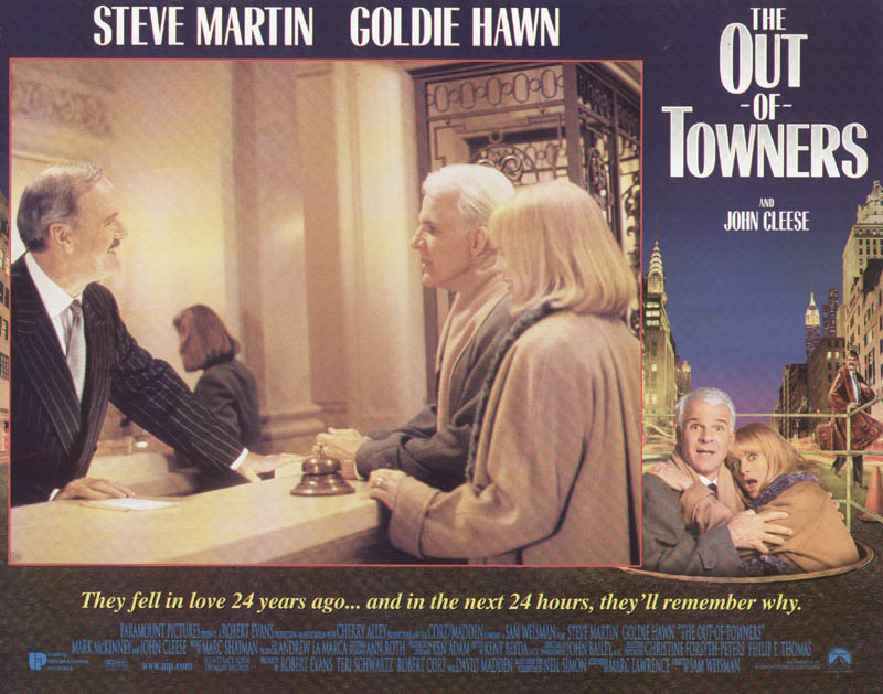 Image 1 for Out Of Towners Movie Cast - Lobby Card Unsigned (Usa) 1999 - HFSID 261716