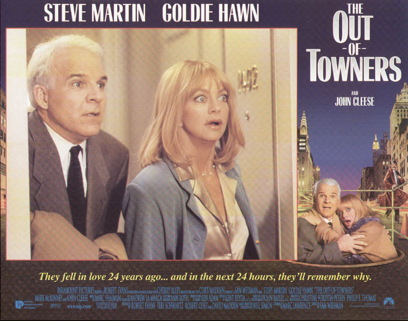 Image 1 for Out Of Towners Movie Cast - Lobby Card Unsigned (Usa) 1999 - HFSID 261718