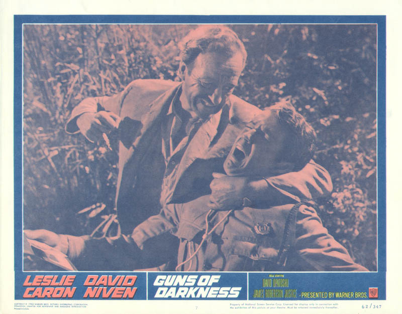Image 1 for Guns Of Darkness Movie Cast - Lobby Card Unsigned (Usa) 1962 - HFSID 261730
