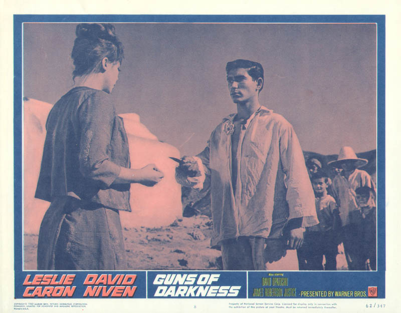 Image 1 for Guns Of Darkness Movie Cast - Lobby Card Unsigned (Usa) 1962 - HFSID 261732