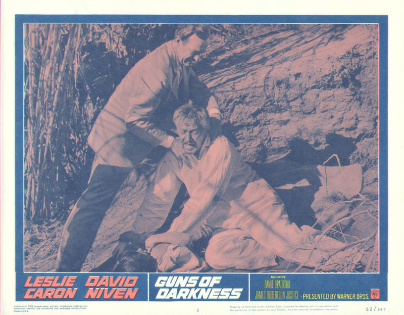 Image 1 for Guns Of Darkness Movie Cast - Lobby Card Unsigned (Usa) 1962 - HFSID 261735