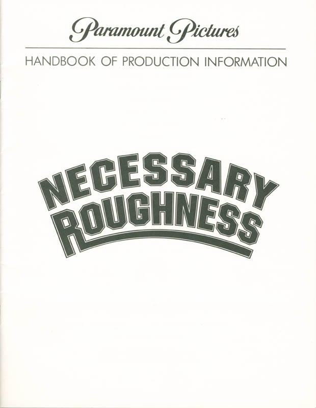 Image 4 for Necessary Roughness Movie Cast - Press Kit Unsigned - HFSID 261806