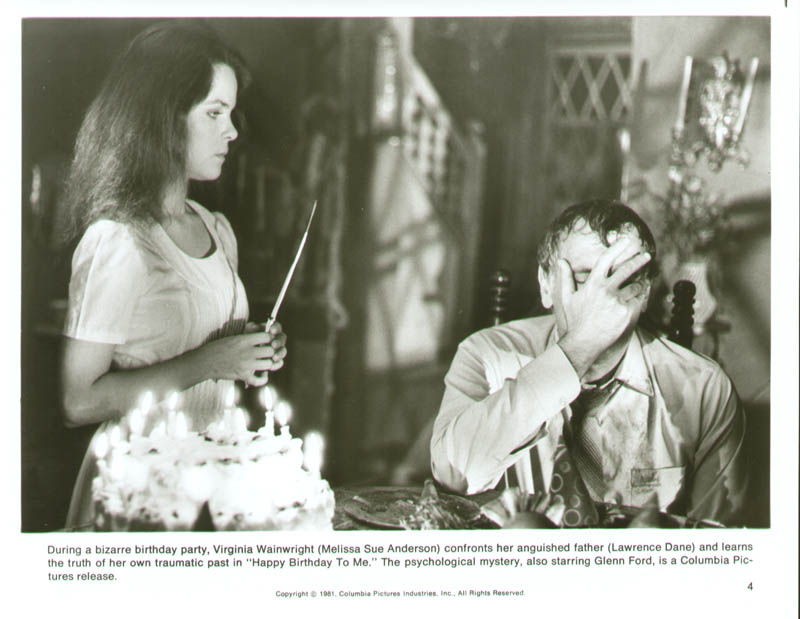 Image 6 for Happy Birthday To Me Movie Cast - Press Kit Unsigned - HFSID 261807