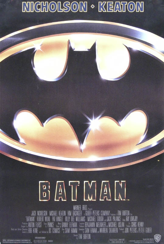 Image 1 for Batman Movie Cast - Poster Unsigned Circa 1989 - HFSID 261875